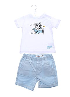 Top/short bleu BABY BOL pour garçon