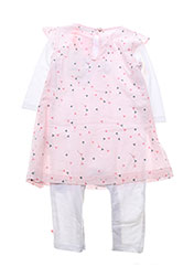 Top/robe rose NOUKIE'S pour fille seconde vue