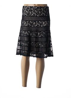 Jupe mi-longue noir FUEGO WOMAN pour femme