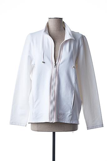 Veste casual blanc HAUBER pour femme