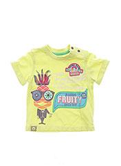 T-shirt manches courtes vert CATIMINI pour garçon seconde vue