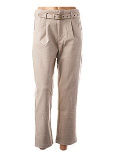 Pantalon casual beige MOLLY BRACKEN pour femme
