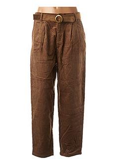 Pantalon casual marron MOLLY BRACKEN pour femme