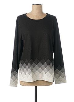 Sweat-shirt noir STREET ONE pour femme