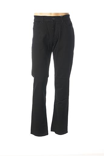 Jeans coupe droite noir HATTRIC pour homme