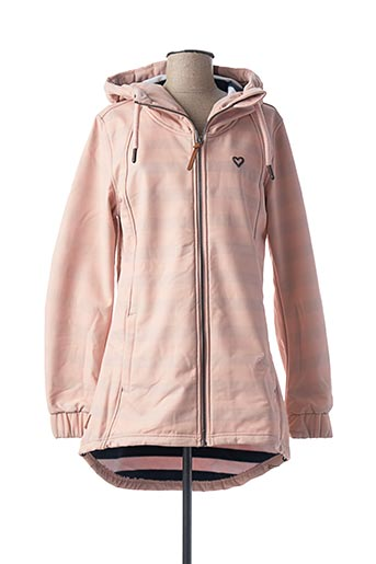 Imperméable/Trench rose ALIFE AND KICKIN pour femme