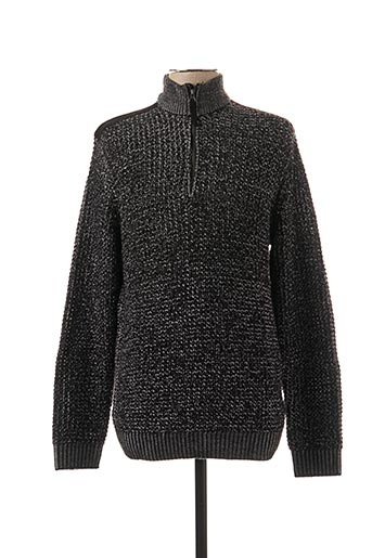 Pull col cheminée gris ONLY&SONS pour homme