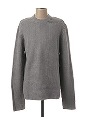 Pull col rond gris ONLY&SONS pour homme seconde vue
