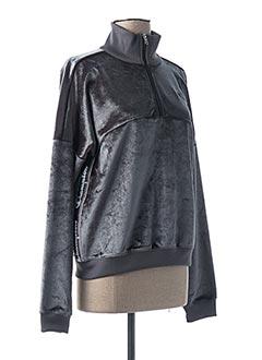 Sweat-shirt gris CHAMPION pour femme