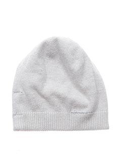 Bonnet blanc HERMAN pour femme