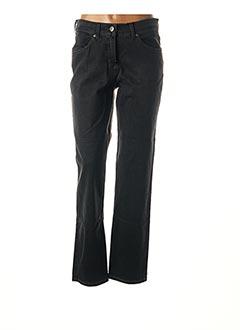 Jeans coupe slim gris TONI pour femme