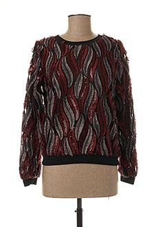 Sweat-shirt noir MOLLY BRACKEN pour femme