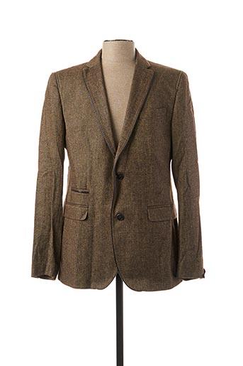 Veste casual marron CG FASHION pour homme