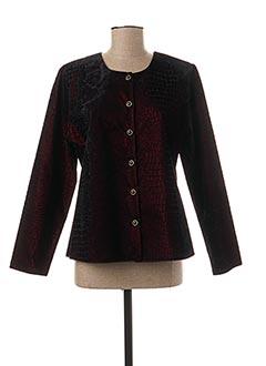 Veste casual rouge FOSBY pour femme