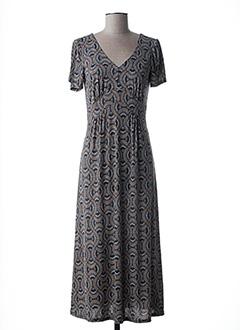 Robe longue bleu FILLES A SUIVRE pour femme