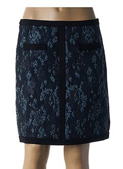 Jupe courte bleu LAUREN VIDAL pour femme