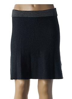 Jupe mi-longue bleu SKUNKFUNK pour femme