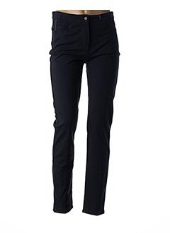 Pantalon chic bleu ANNA MONTANA pour femme