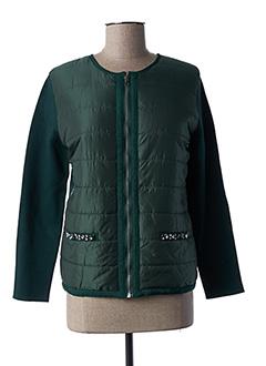 Veste casual vert FELINO pour femme
