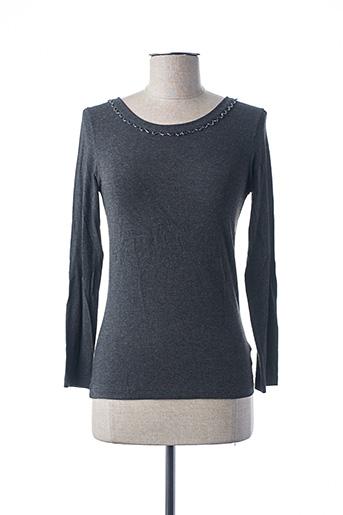 T-shirt manches longues gris IMEC pour femme