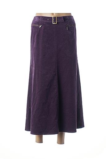 Jupe longue violet HUCKE WOMAN pour femme