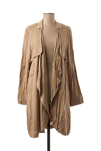 Veste casual beige VERO MODA pour femme