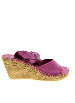 Espadrilles violet LORMY pour femme