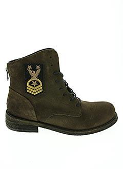 Bottines/Boots vert FELMINI pour femme