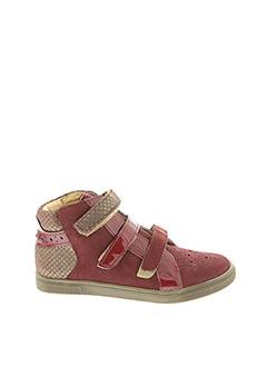 Bottines/Boots rouge INTREPIDES PAR BABYBOTTE pour fille