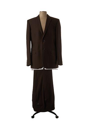 Veste/pantalon marron IZAC pour homme