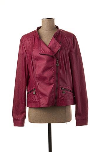 Veste casual rose REVER MILE pour femme
