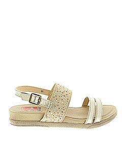 Sandales/Nu pieds beige FLUCHOS pour femme