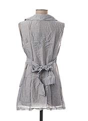 Veste casual gris L33 pour femme seconde vue