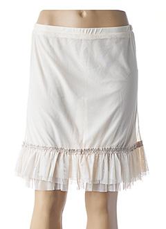 Jupon /Fond de robe beige L33 pour femme