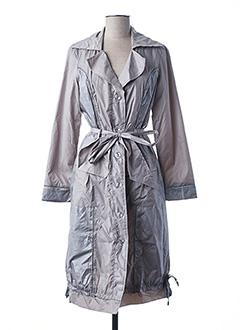 Imperméable/Trench gris L33 pour femme