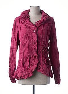Veste chic / Blazer rouge L33 pour femme