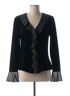 Veste chic / Blazer noir FOSBY pour femme