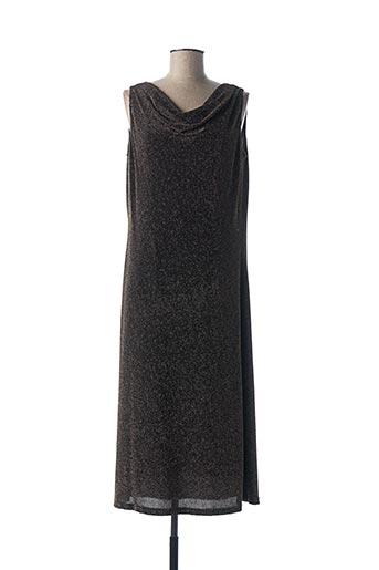 Robe mi-longue noir FOSBY pour femme