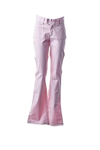Pantalon casual rose TEDDY SMITH INDUSTRY pour fille