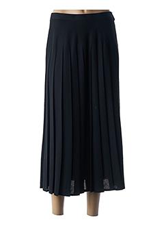 Jupe longue noir ANNE D'ALETH pour femme