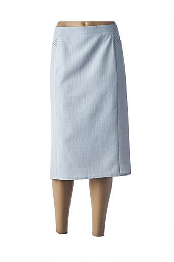 Jupe mi-longue gris CATY JANE pour femme