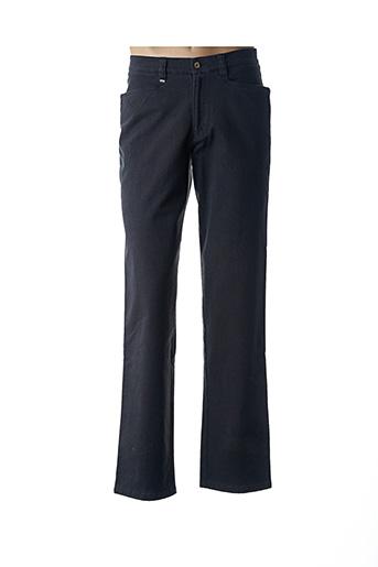 Pantalon casual gris CANALETTO pour homme