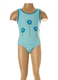 Maillot de bain 1 pièce bleu TRIUMPH pour fille