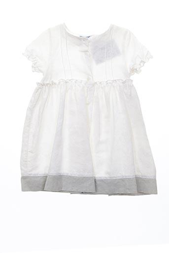 Robe mi-longue beige JEAN BOURGET pour fille