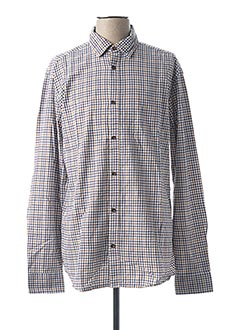 Chemise manches longues beige ONLY&SONS pour homme