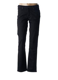 Jeans coupe droite noir LEE pour femme