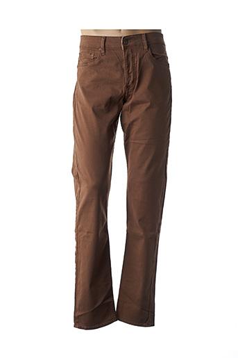 Pantalon casual marron FREEMAN T.PORTER pour homme