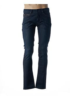 Jeans coupe slim bleu FREEMAN T.PORTER pour homme