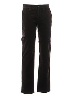 Pantalon casual noir CAMBRIDGE pour homme