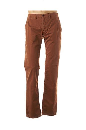 Pantalon casual marron CAMBRIDGE pour homme